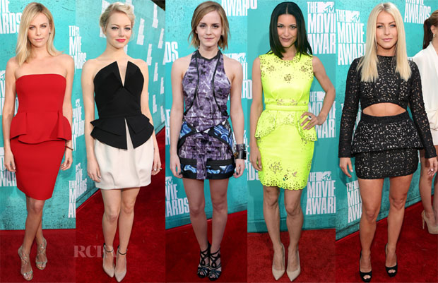 Celebrities-Love-Peplum-Dresses