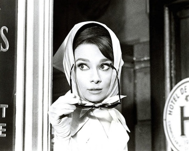 Audrey-Hepburn-in-Head-Scarf-Charade