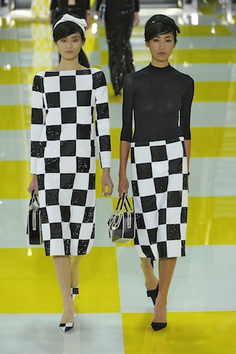 Louis Vuitton RTW Spring Summer 2013 Paris Fashion Week October 2012