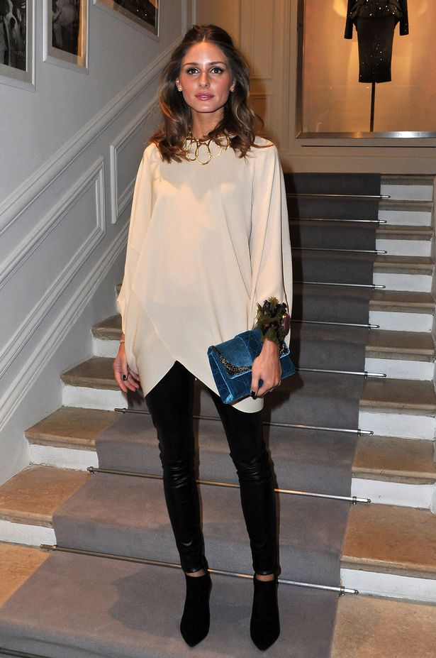 Olivia Palermo at the Dior Haute-Couture 2012 show during Paris Fashion Week-189018